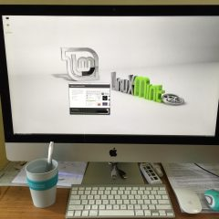 Install Linux Mint 17.3 Rosa versi Cinnamon Desktop di Apple 27-inch iMac with Retina 5K Display MF885