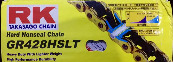 Custom Gearset SSS dan rantai RK Takasago buat CBR150R K45 Lokal